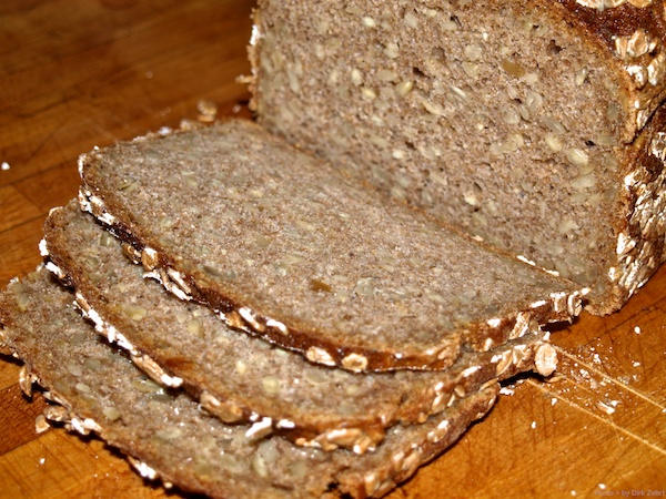 Brot kann prima vakuumiert werden